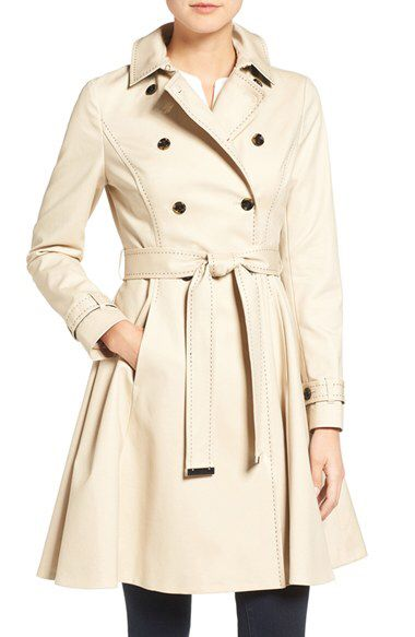 Ted Baker London Ted Baker London Pick Stitch Trench Coat available at #Nordstrom