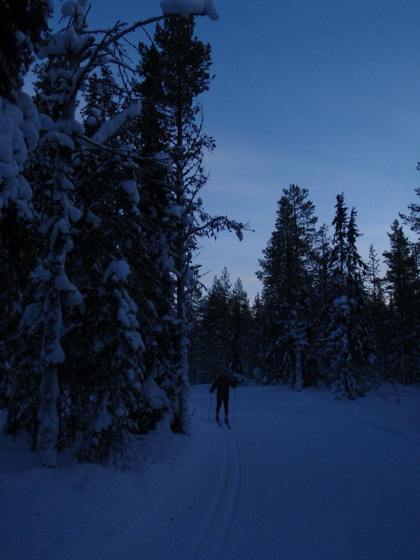 Levi Lapland - my photo of late afternoon ski