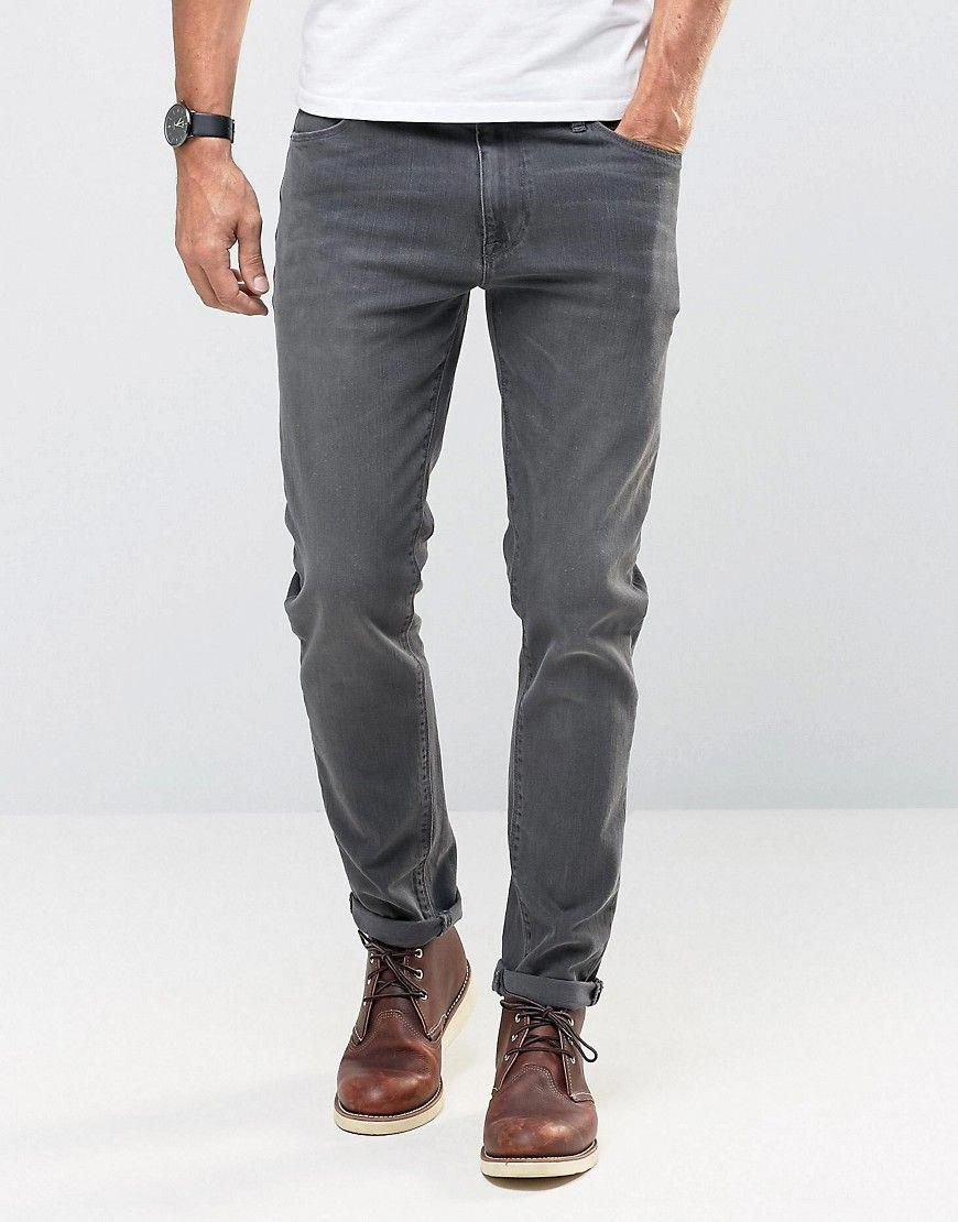 cd990160 ASOS Skinny Jeans In Dark Gray - Gray #MensFashionEdgy | Mens ...