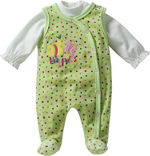 Strampler Unisex Mädchen Jungen Kleidung Outfit Gr Baby 2er Set Shirt 56-86