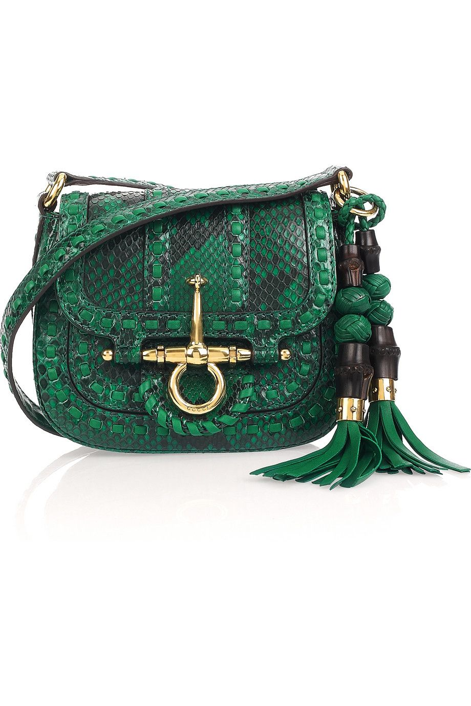 Gucci - Python shoulder bag