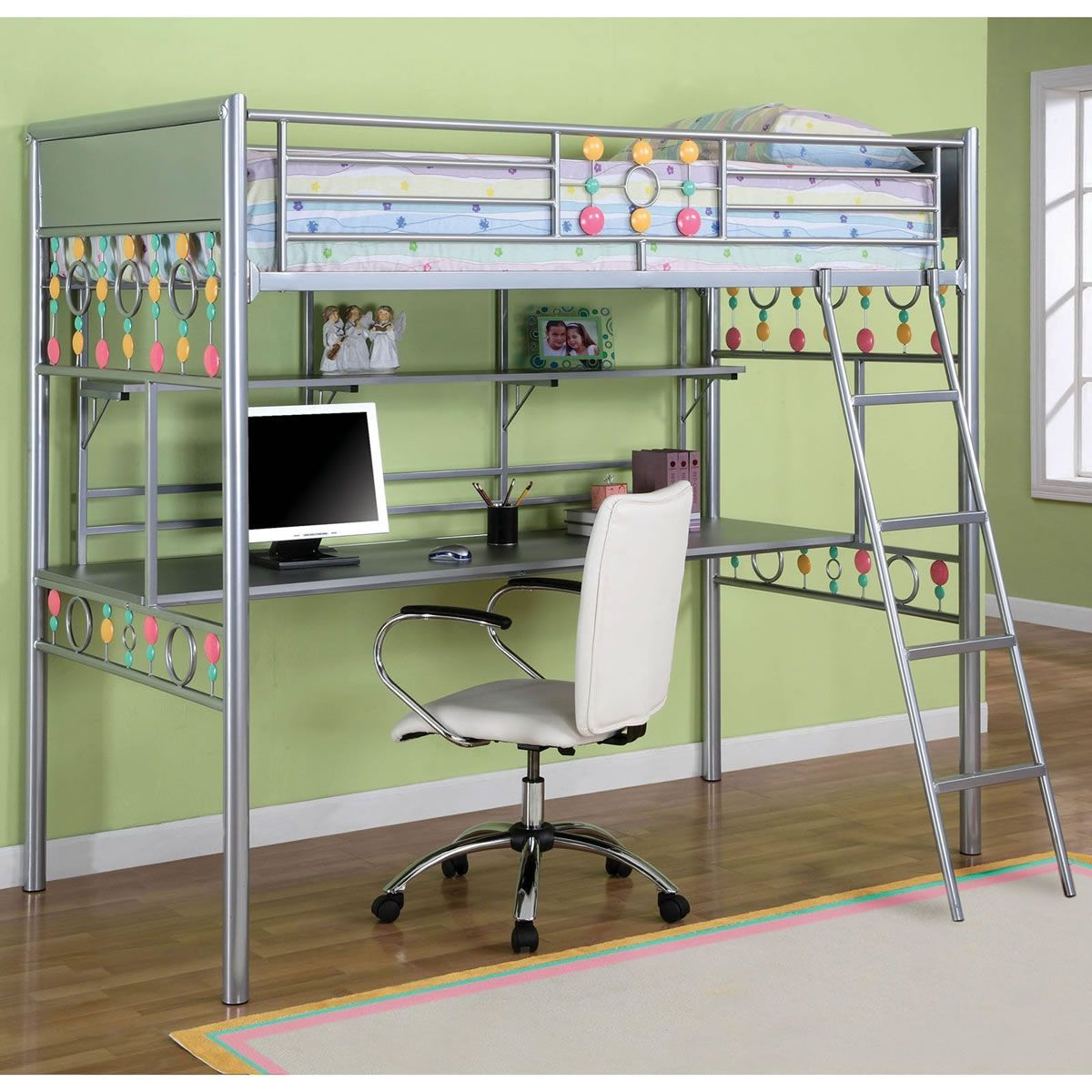 10 Bunk Beds For Kids Couples Singles And Teenagers Bunk Bed With Desk Build A Loft Bed Bed With Desk Underneath Ikea