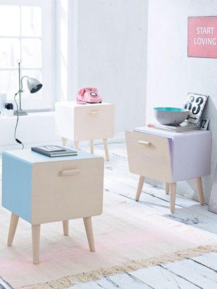 Vintage-Möbel - das Comeback der 50er | Pinterest | 50er, Pastell ...