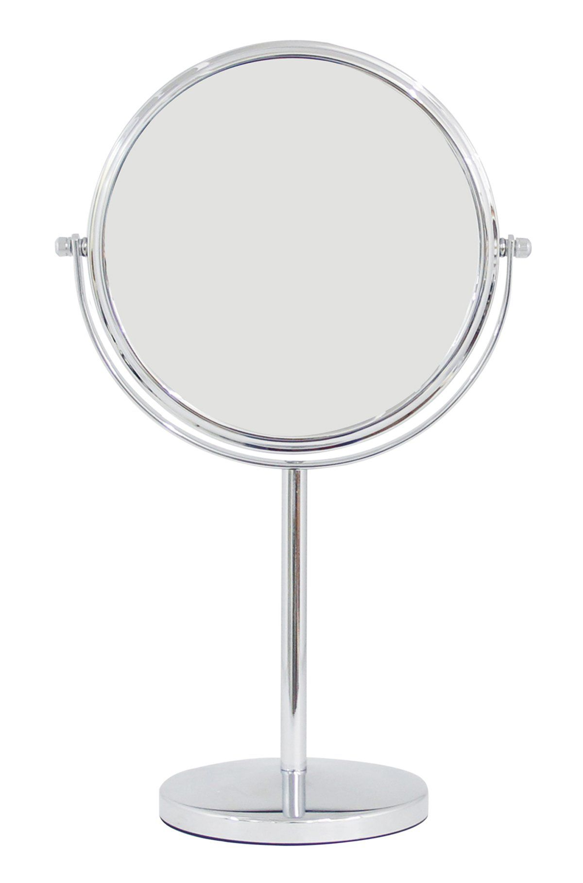 Two Sided 1x 3x Countertop Tabletop Vanity Makeup Mirror