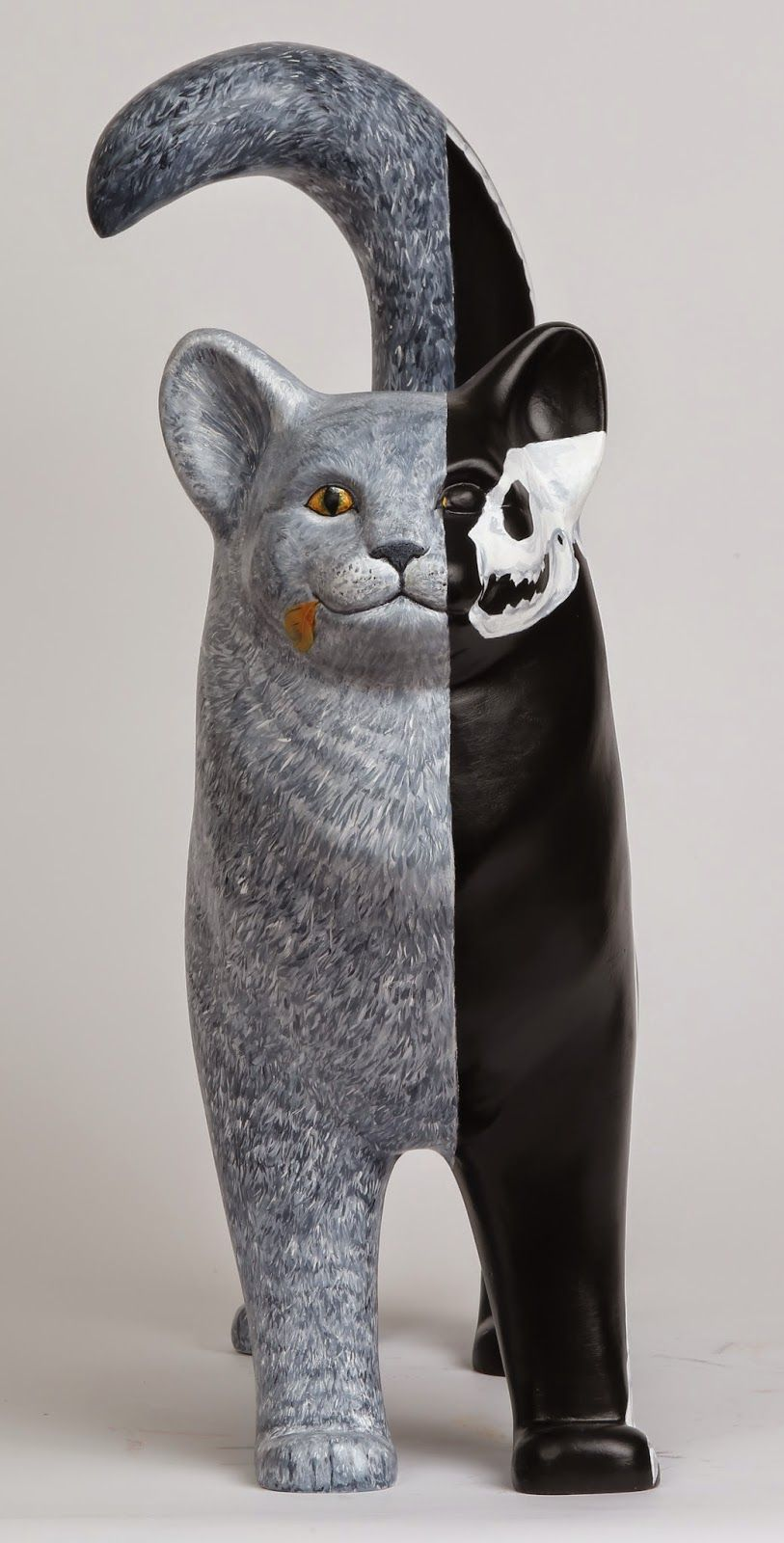 Bid on a cat in advance tails of the painted cats 2015