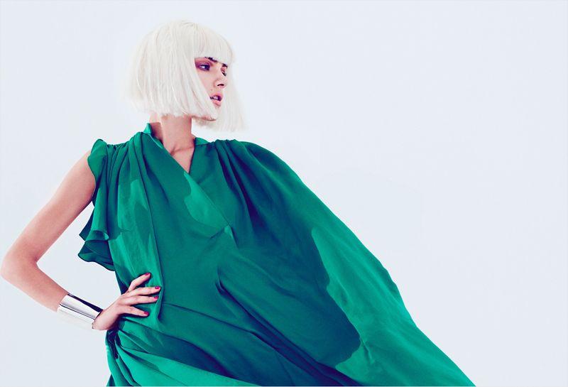 Ada Wrzesinska for Harper's Bazaar Turkey April 2012