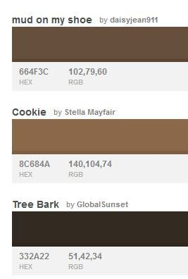 Rgb Codes For Hair And Skin Colors For Skin Tone Skin Color Palette