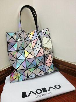 adf7026858a4 Free shipping Issey MIYAKE baobao metal color handbag women s handbag laser  shoulder bag-inShoulder Bags from Luggage   Bags on Aliexpress.com ( 50.00)  - ...