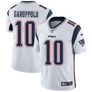 c40e16dc4e7 Nike Patriots  10 Jimmy Garoppolo White Men s Stitched NFL Vapor  Untouchable Limited Jersey