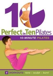 Perfect In Ten Pilates 10 Minute Workouts Dvd With Annette Fletcher 10 Minute Workout Workout Workout Dvd