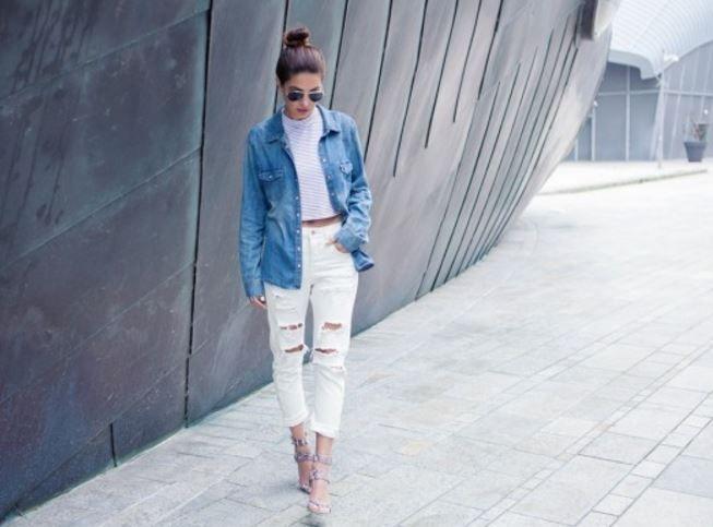 Ilkbahar Yaz 2016 Beyaz Kot Pantolon Kombinleri Moda Stilleri Pantolon Beyaz Kotlar