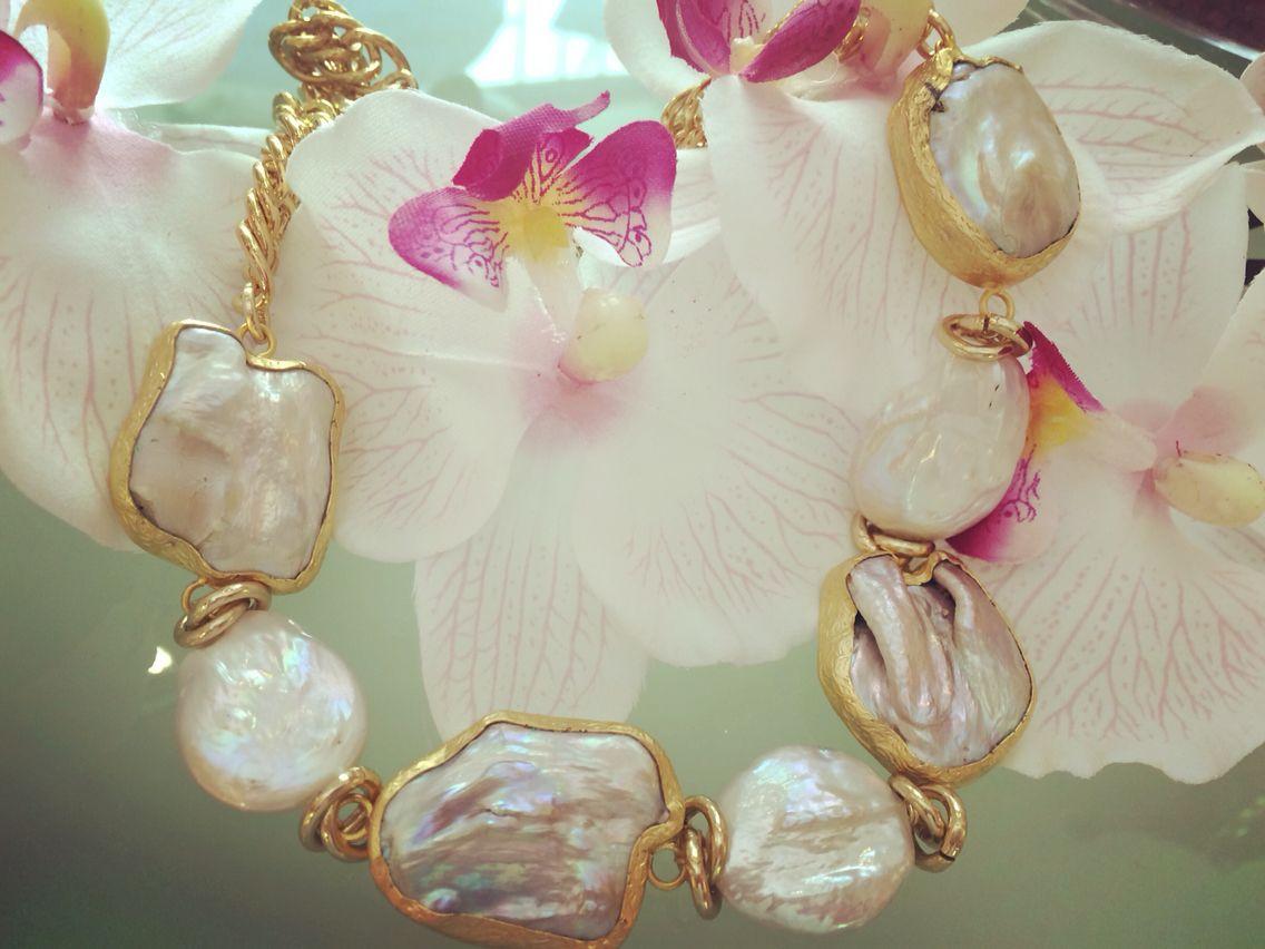 Baroque pearls......