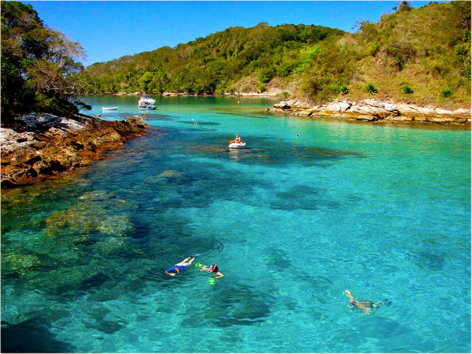 Praia Paradisiaca Rio De Janeiro Lagoa Azul Ilha Grande Ilha