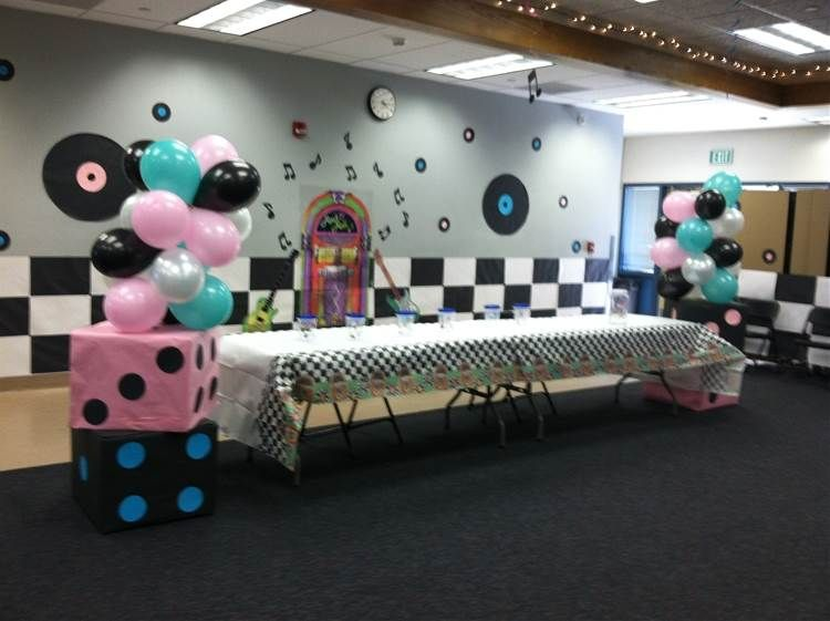 Image Result For Fifties Dance Decorations Party Dance