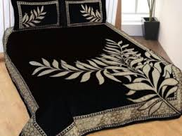 10 Latest Embroidery Bed Sheet Designs With Pictures In 2020
