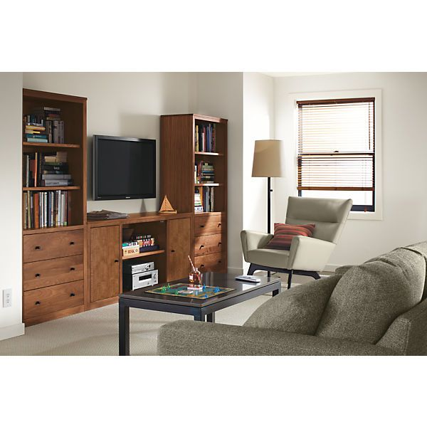 Media Room Storage: Woodwind Media Cabinets