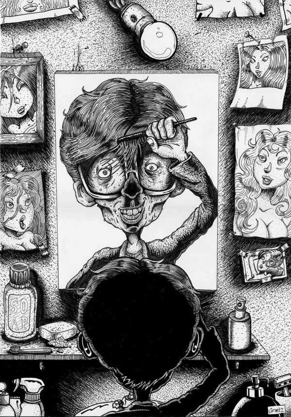 Freaky Lover by Franck Graetz, via Behance
