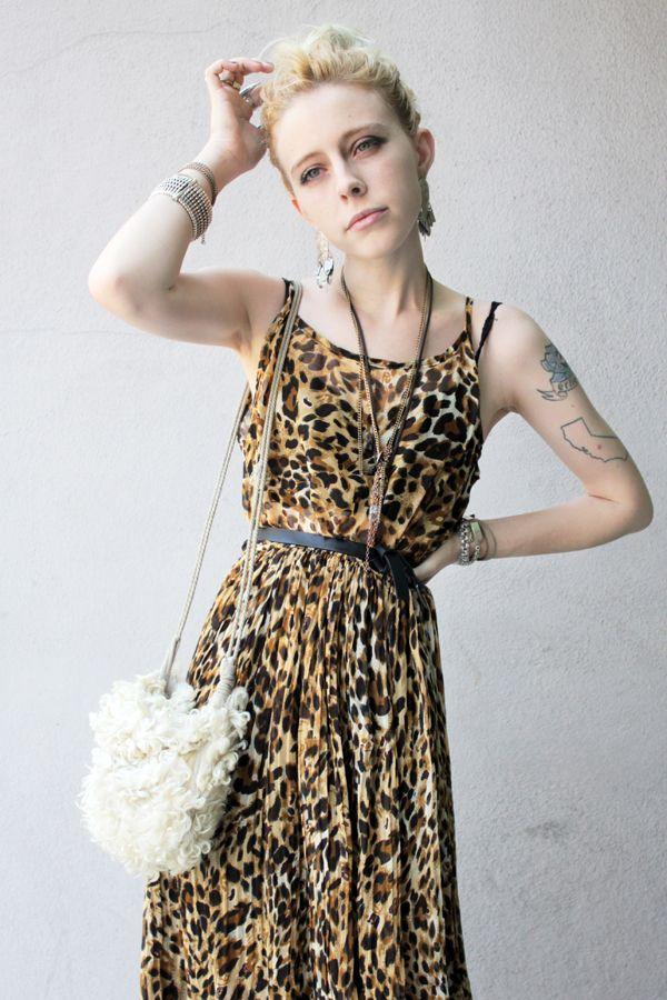JEAN GREIGE by MADELINE PENDLETON: 71 - Def Leppard (or) Leopard on Leopard