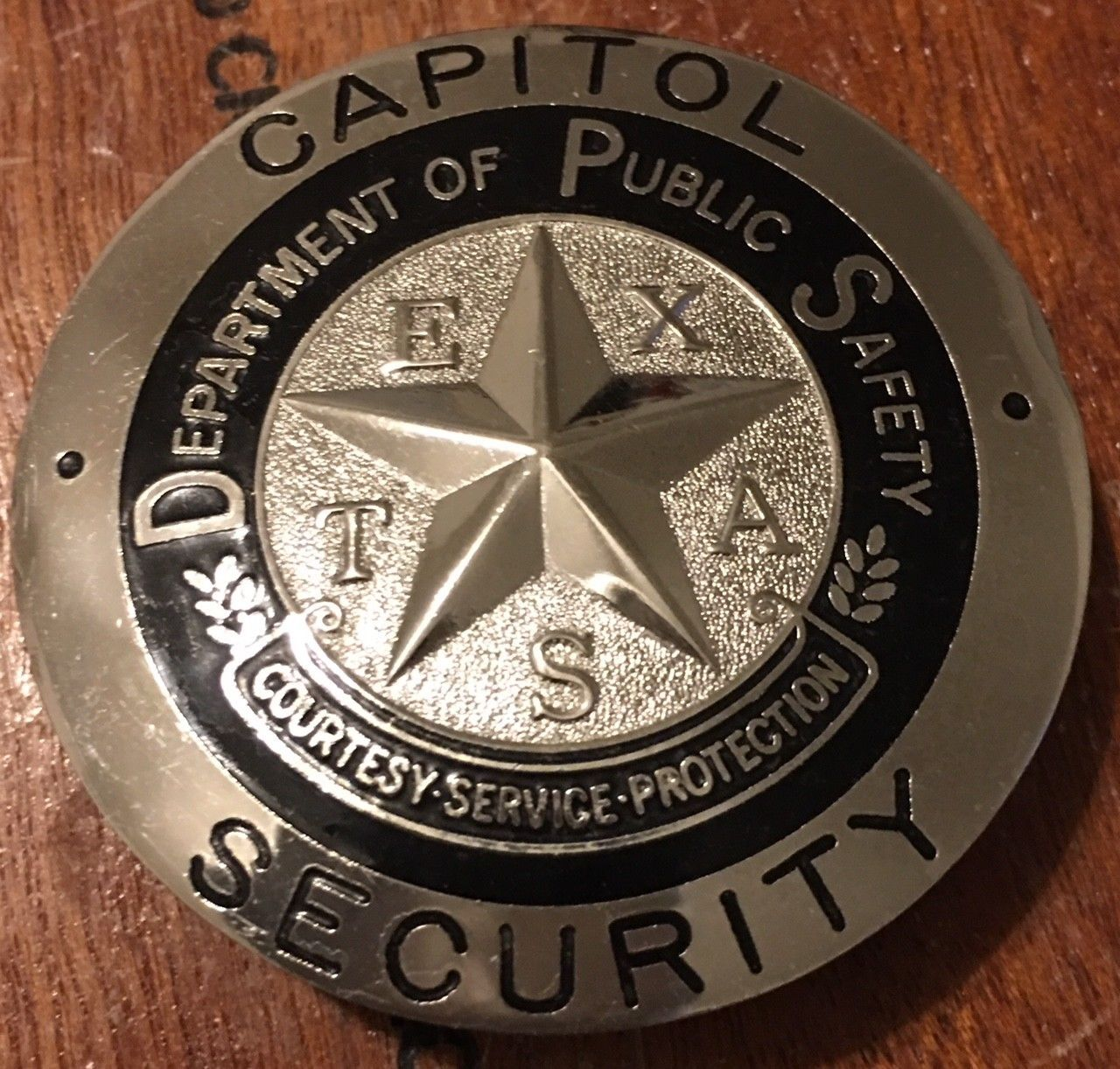 Capitol Security, Department of Public Safety, Texas