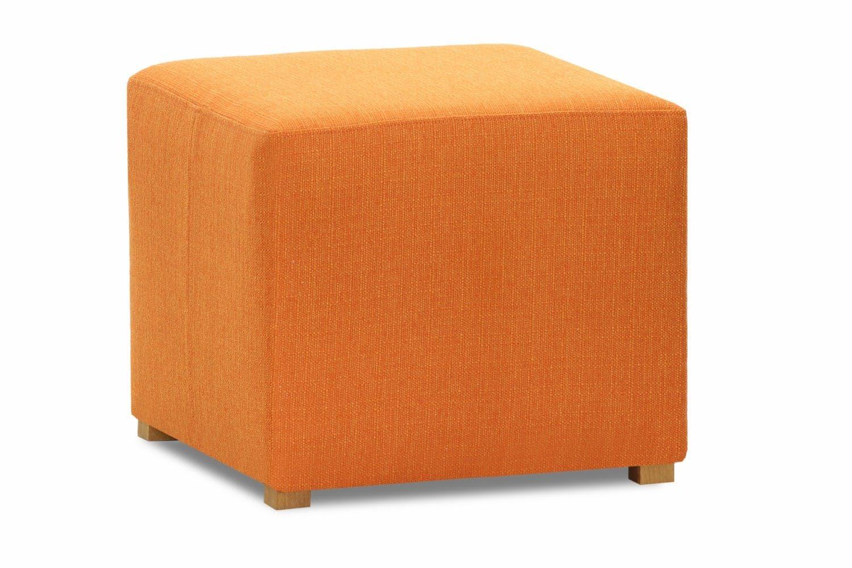 Pufa Bedroom Stool Cube Portland Orange Bedroom Stools Stool