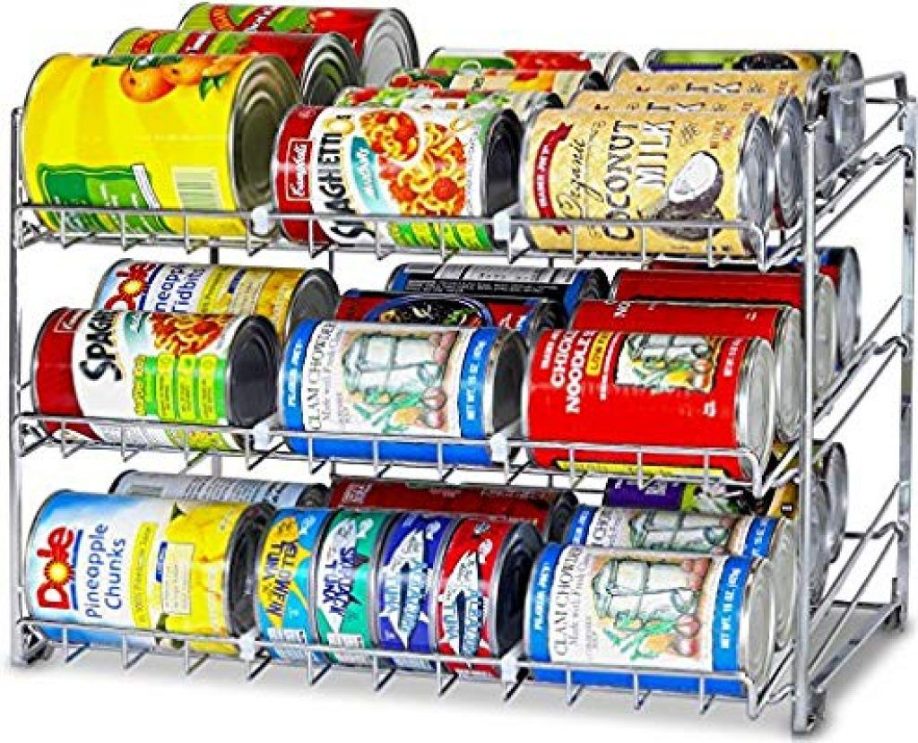 Organizer That Keeps Food Cans Stacked And Orderly Kitchen Spice