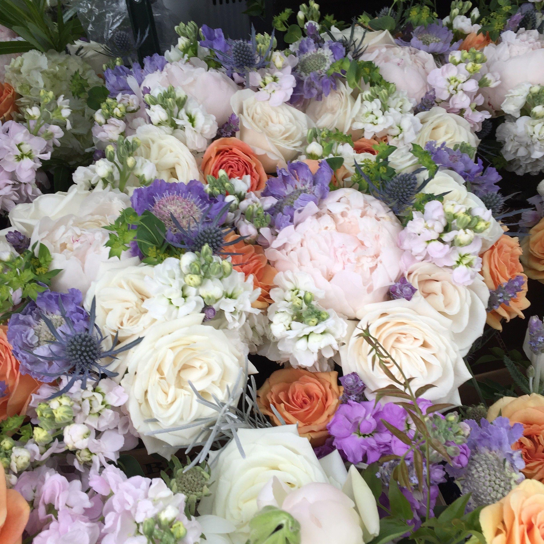 Vermont Wedding Flowers: Bridesmaid Bouquets By Alison Ellis, Vermont Wedding