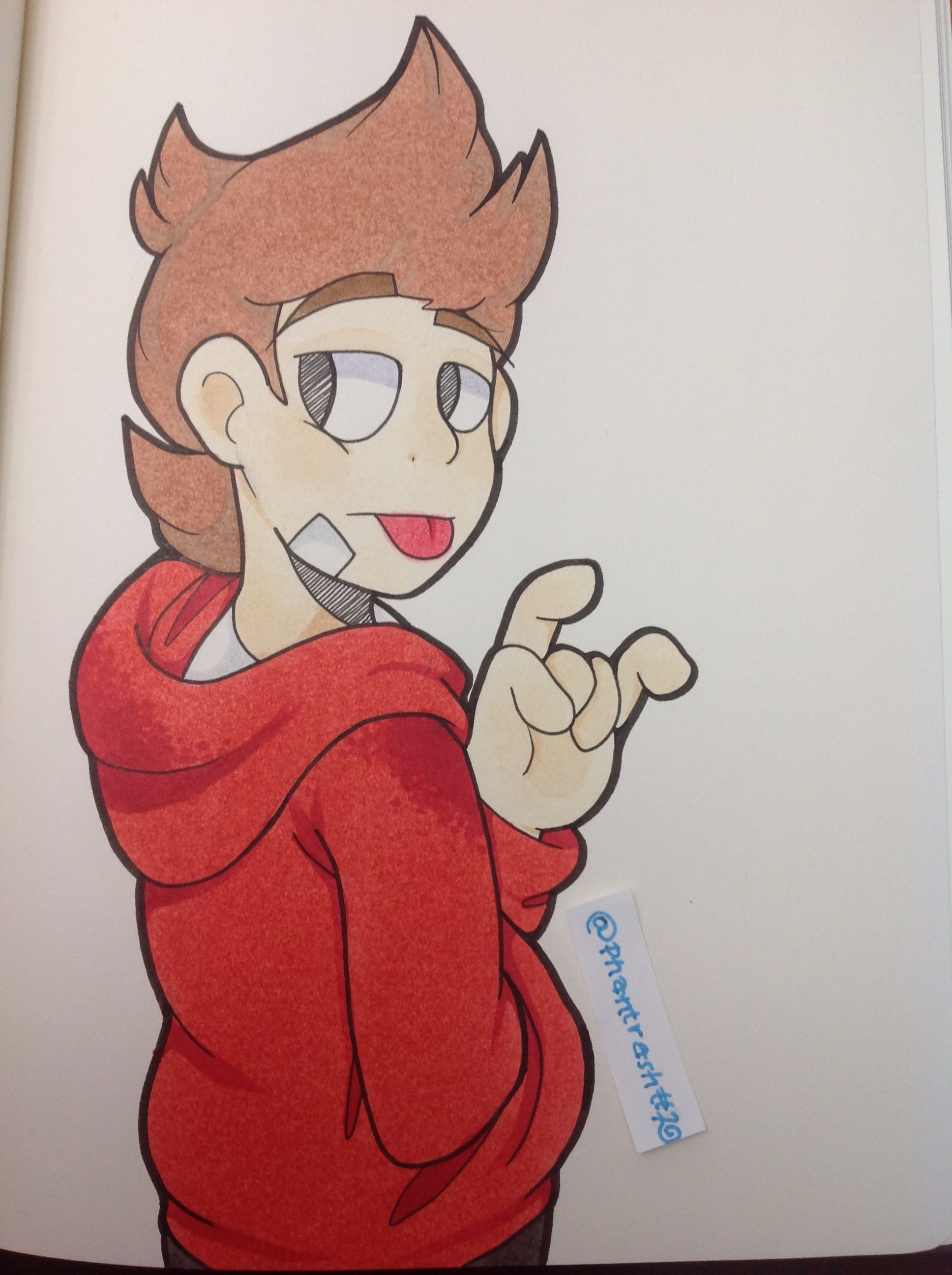 Tord from Eddsworld, I'm most likely going to be drawing a lot more