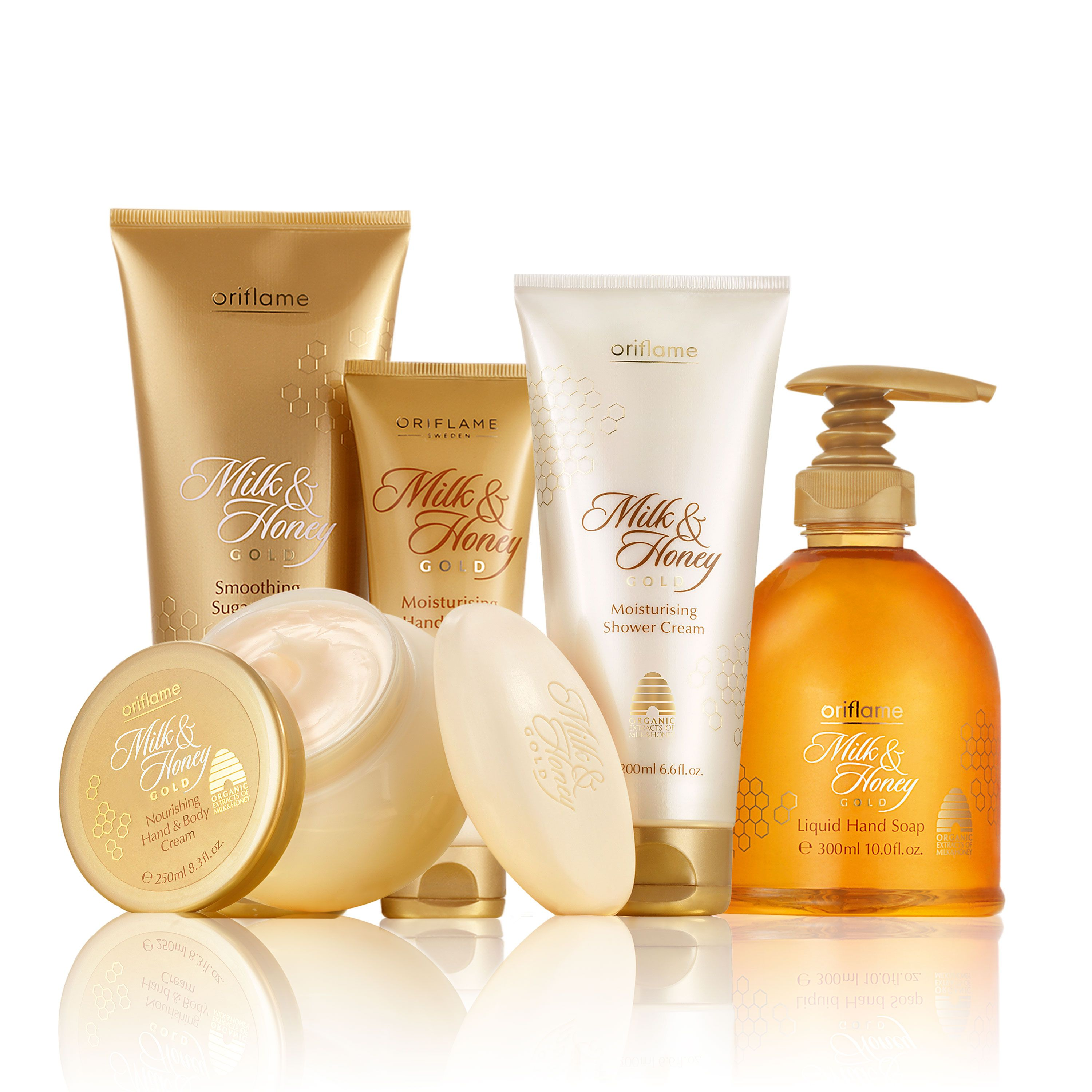 Milk & Honey set