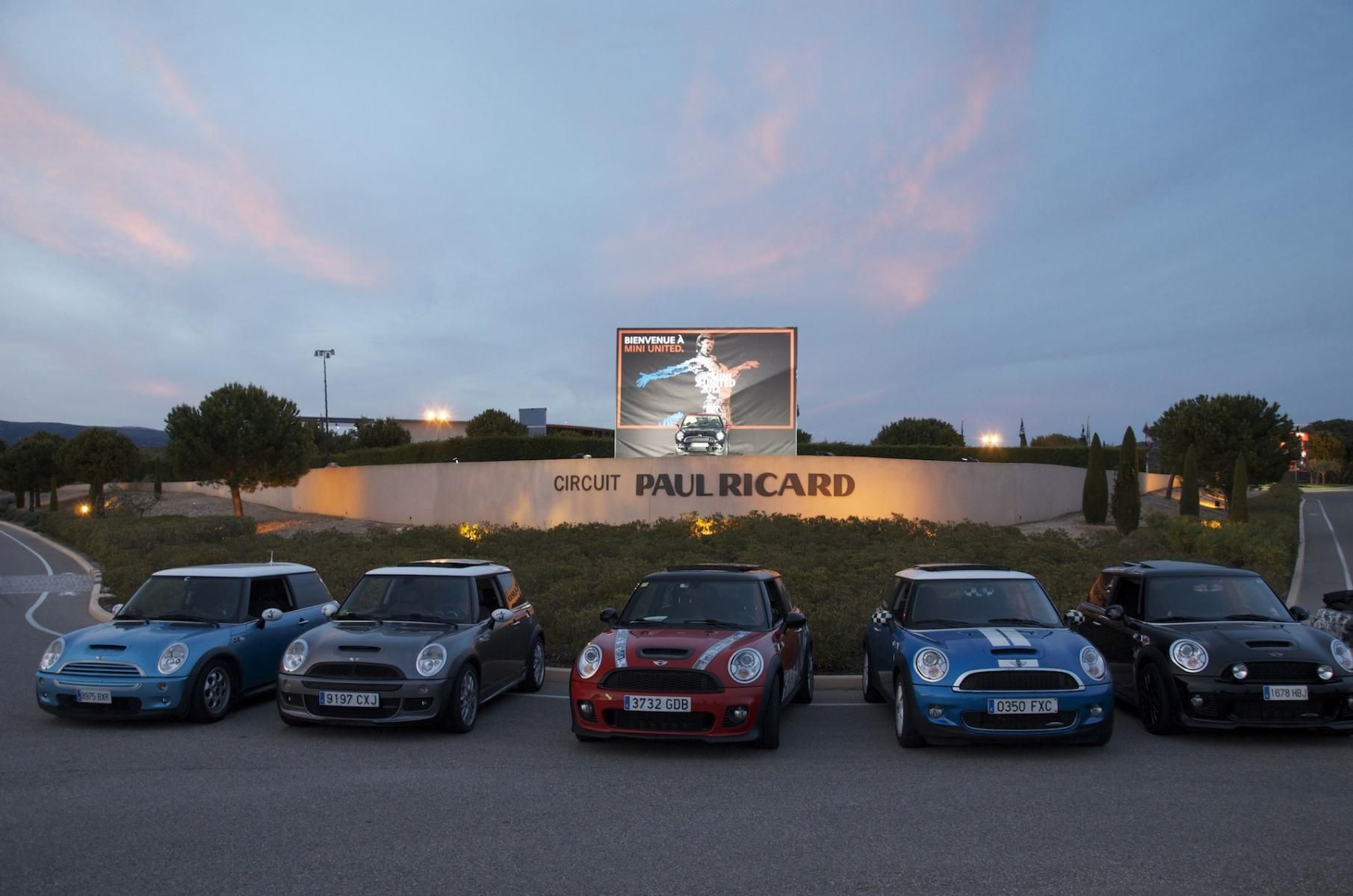 Just arrived with my friends to MINI United at Paul Ricard