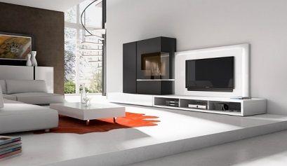 Electrodomesticos modernos buscar con google muebles for Salones modernos blancos