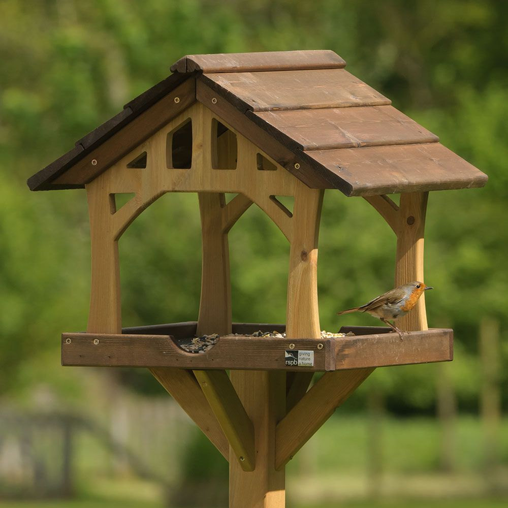 Country Barn Bird Feeding Table | Bird tables, Bird ...