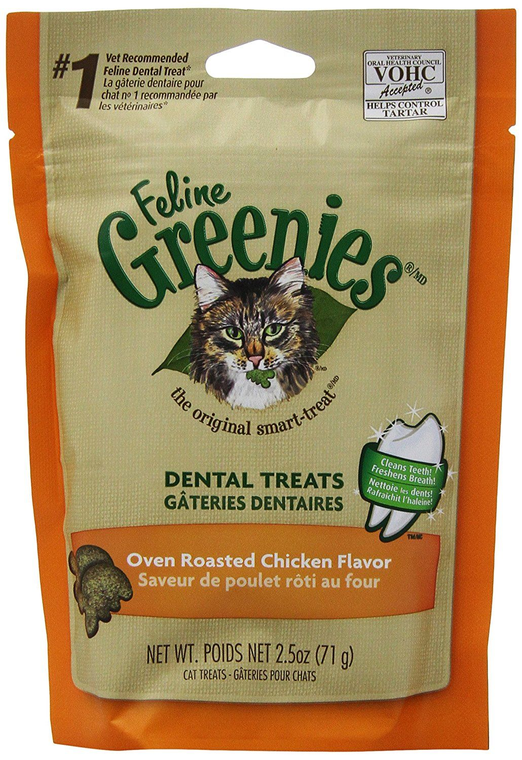 Feline Greenies 6 Pack Felines Feline Greenies 15 Ounce You Can Get More Details By Clicking On The Image This Is An Affiliate Lin Oven Roasted Chicken Cat Treats Roast Chicken Flavours