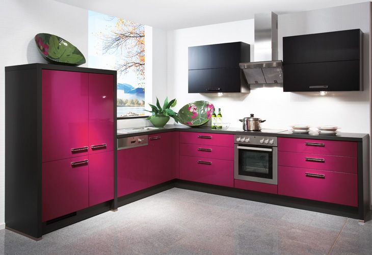 rosa k che pink kitchen kitchen pinterest k che pink k chenfronten und k chenfarbe. Black Bedroom Furniture Sets. Home Design Ideas
