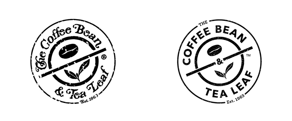 The Coffee Bean Tea Leaf 3 Logo Design Coffee Logo Design