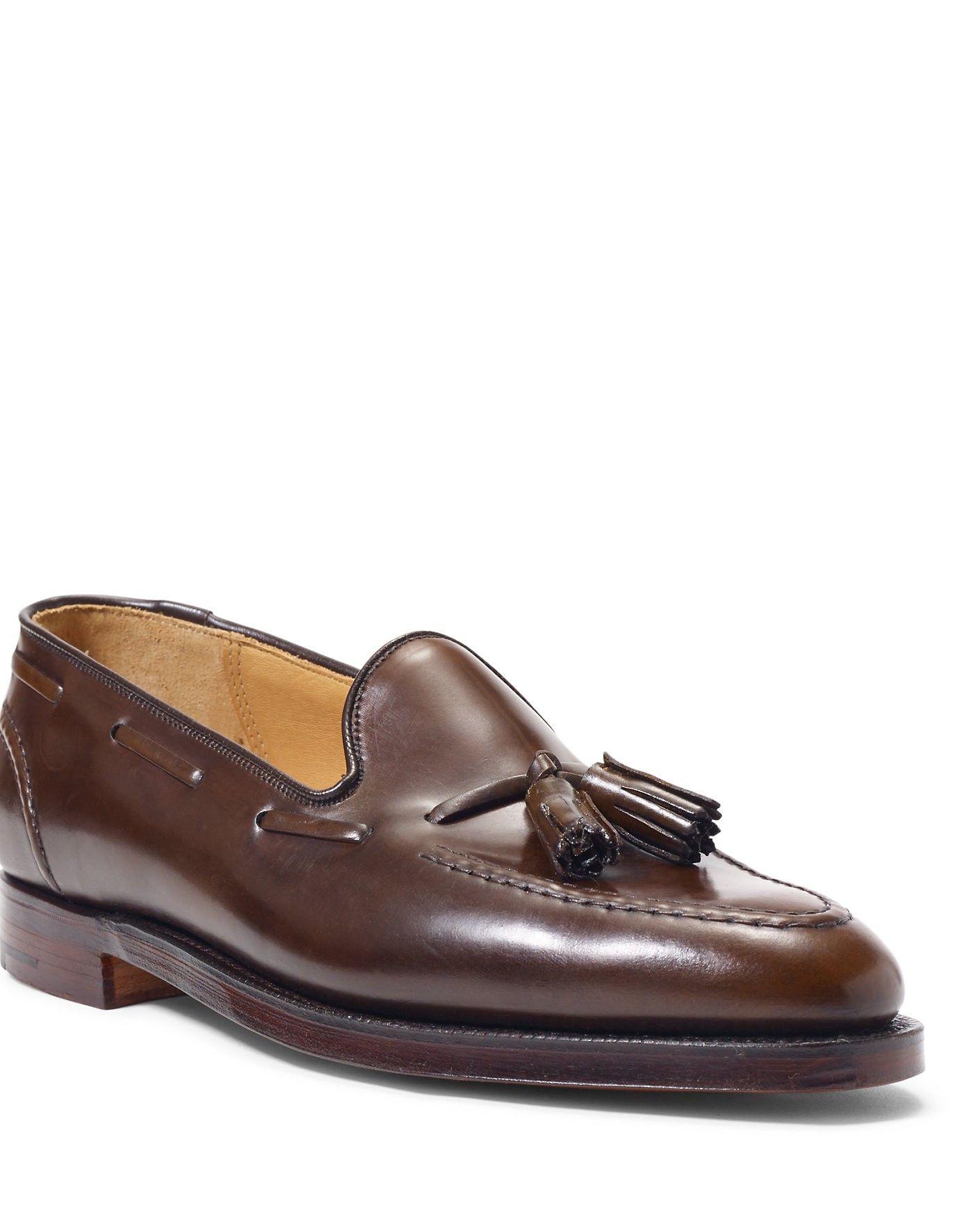 ca11b5769 RALPH LAUREN Ralph Lauren Marlow Cordovan Tassel Loafer. #ralphlauren #shoes  #