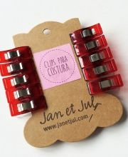 Pinzas para costura de Jan et Jul