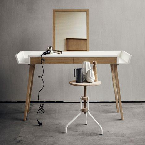 coiffeuse   le-design.fr   meubles à faire soi même   pinterest ... - Coiffeuse Meuble Design