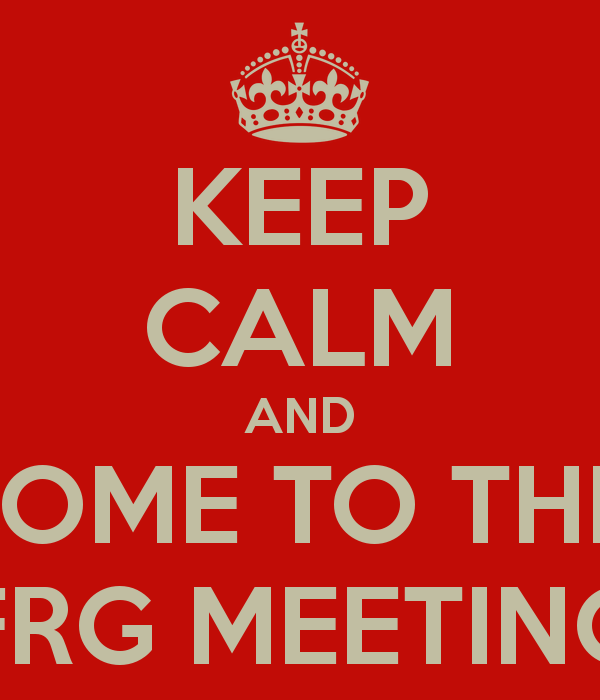 KEEP CALM AND COME TO THE FRG MEETING | Family Readiness Group ...
