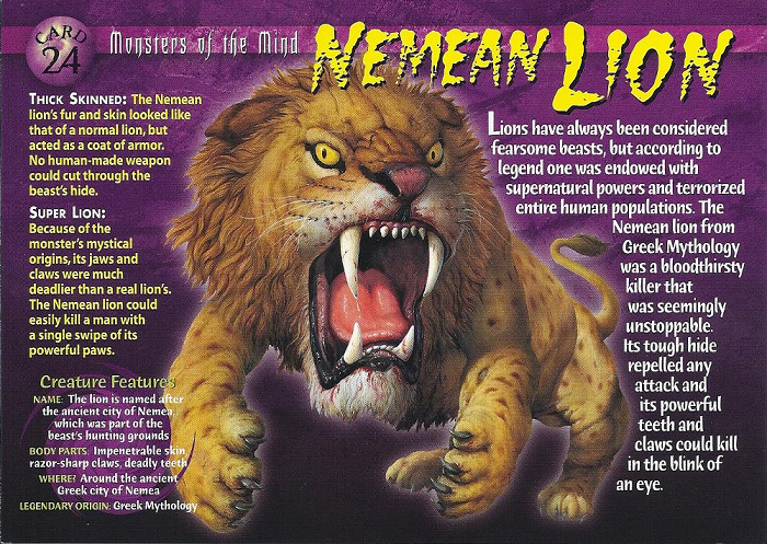 Nemean Lion. Lion in 2019 Nemean lion, Lion
