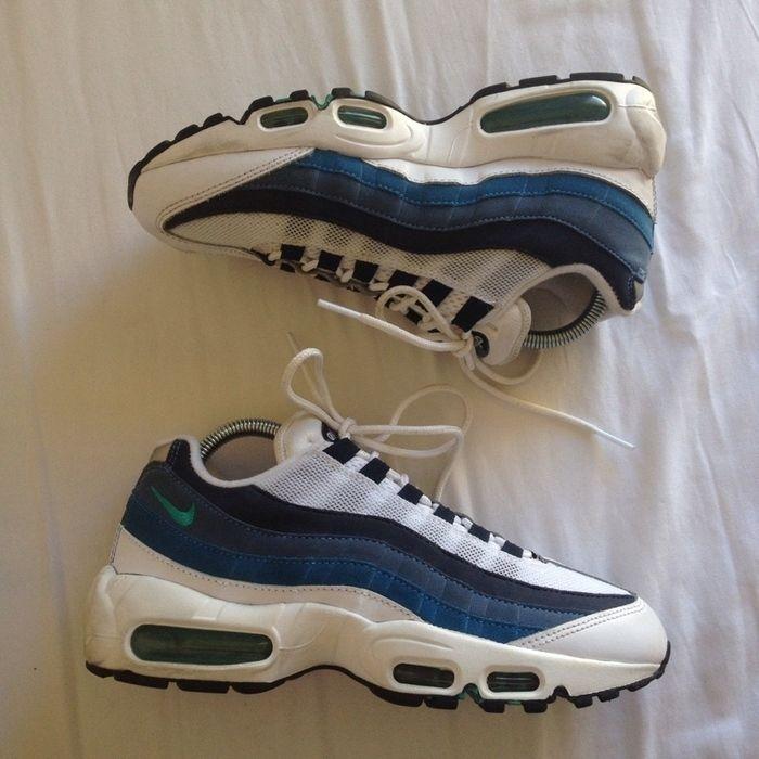 Nike Air Max 95 OG Blue | Nike air max, Chaussures air max, Nike