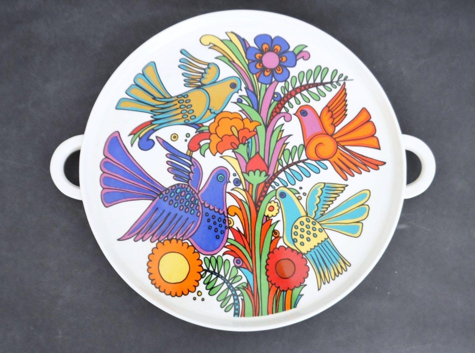 best  modern serving trays ideas on pinterest  coffee tray  - villeroy  boch acapulco vtg mid century modern serving tray platter plateretro