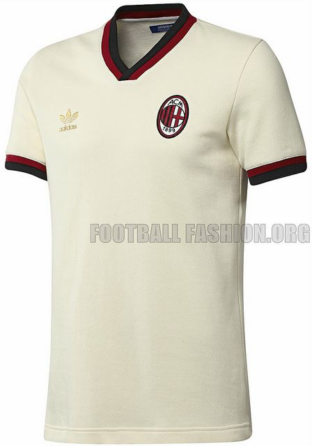 AC Milan adidas Originals 1:1 Away Jersey #calcio #sport #selected2013 #milan #vintage