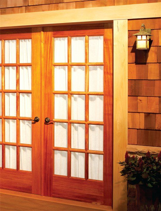 Build Your Own French Doors | Woodworking Woodworking magazine and Popular woodworking & Build Your Own French Doors | Woodworking Woodworking magazine and ...