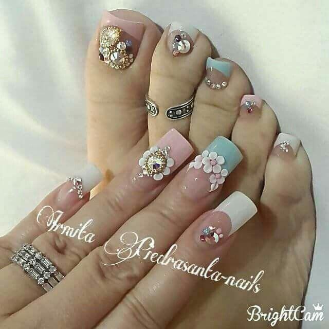 Nail Art Design Ideas Nail Art Ideas For Short Nails Nail Art For Summer Winter Spring Fall Cute Toe Nails Toe Nail Designs Toe Nails