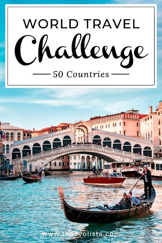 World Travel Challenge - 50 Countries - THE EVOLIS
