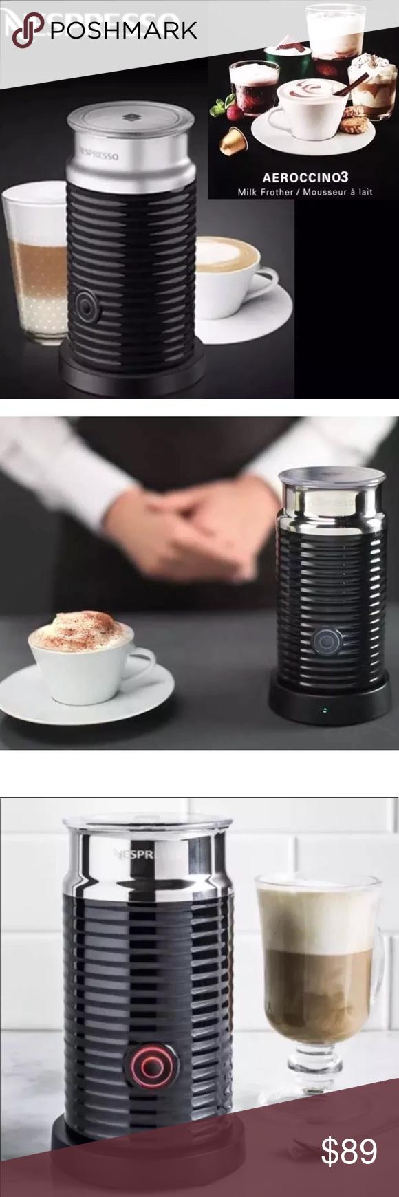 Nespresso Aeroccino Automatic Milk Frother - NEW ...