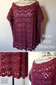 Rose Bud Poncho