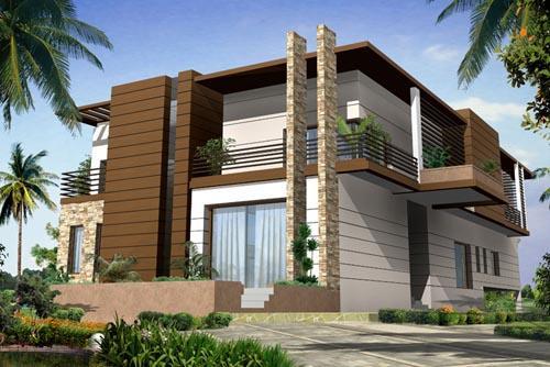 تصاميم منازل مودرن Modern Exterior House Designs Modern Exterior House Design