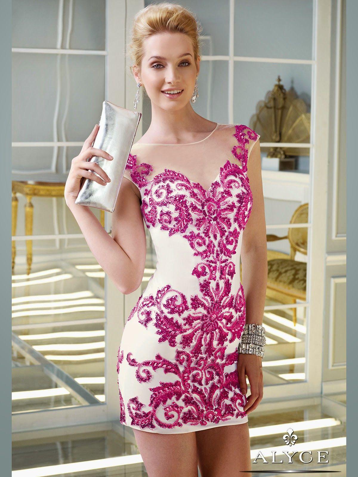 Exclusivos vestidos para jovencitas de fiesta | Bricolaje y ...