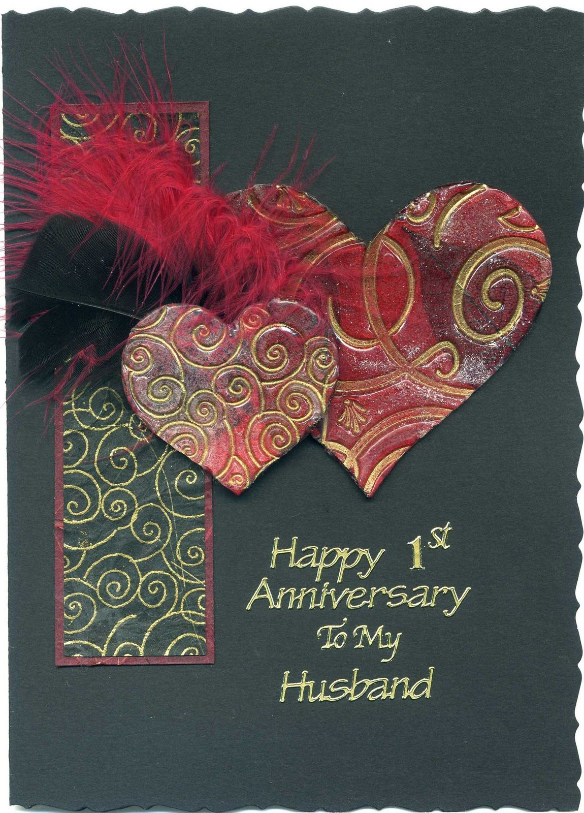 Handmade Greeting Card Ideas For Husband Wedding Anniversary Cards